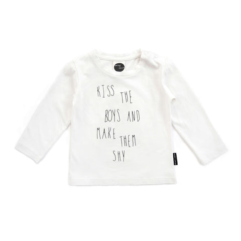 T-SHIRT 'KISS THE BOYS'