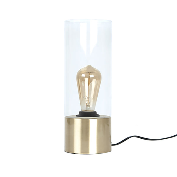 Table Lamp Lax Gold + Bulb