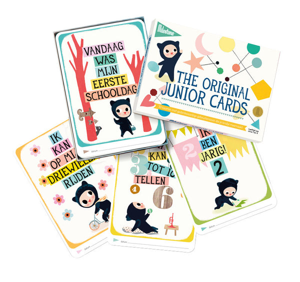 Milestone junior cards (NL)