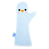 Baby Shower Glove Penguin Blue