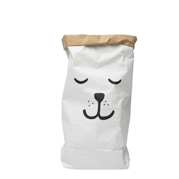 Paper Bag sleeping Bear