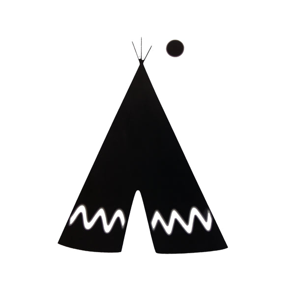 Iron-on tipi