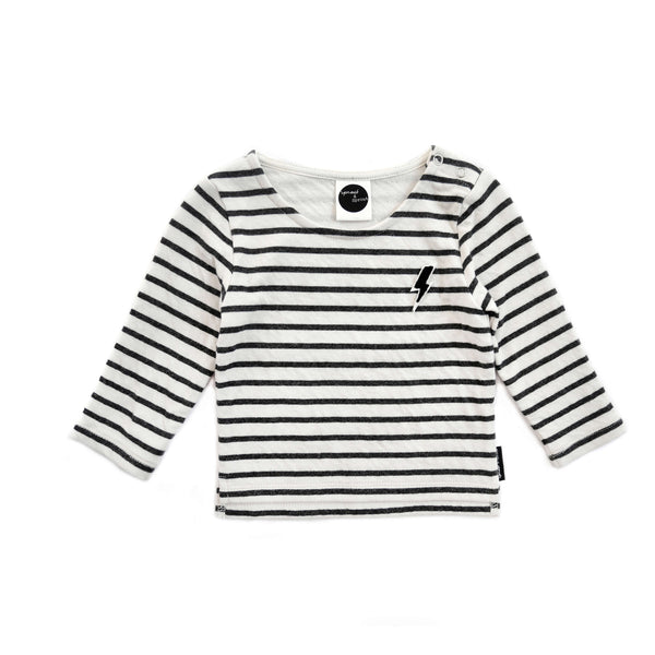 SWEATER STRIPE THUNDERBOLT