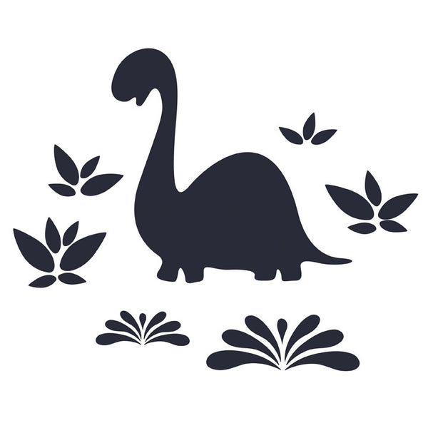 Chalkboard sticker set chalkasaurus
