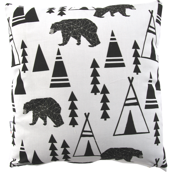 Cushion Bears and tepees