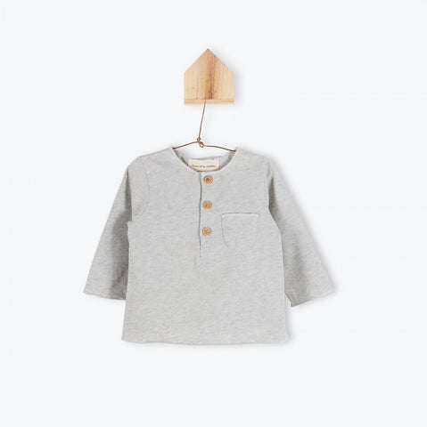 Grey jersey baby T-shirt