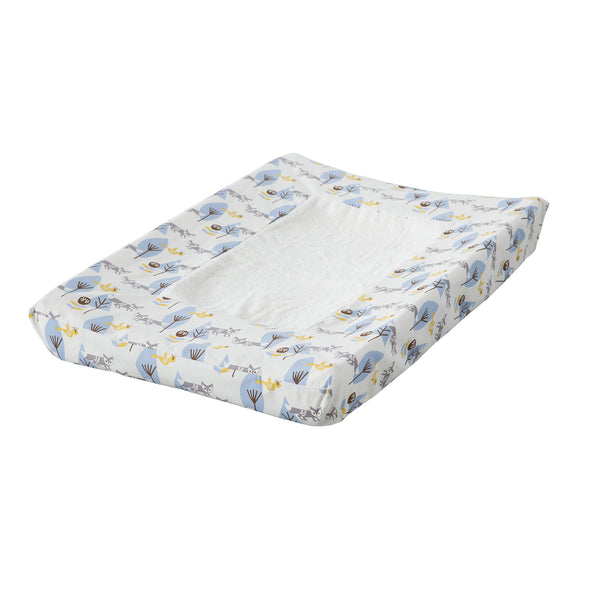 Changing pad cover Fox blue