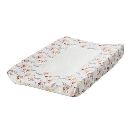Changing pad cover Fox pink