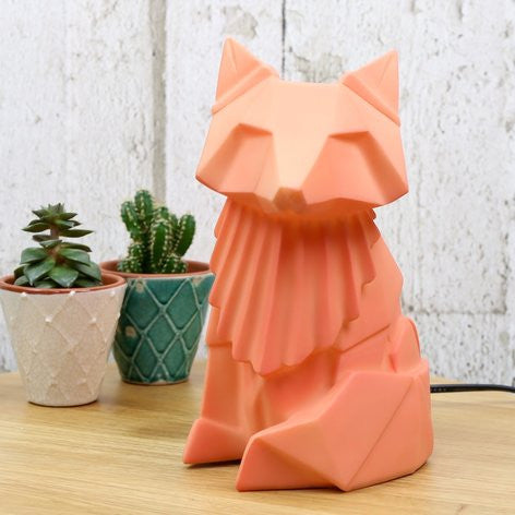 Fox Lamp Orange
