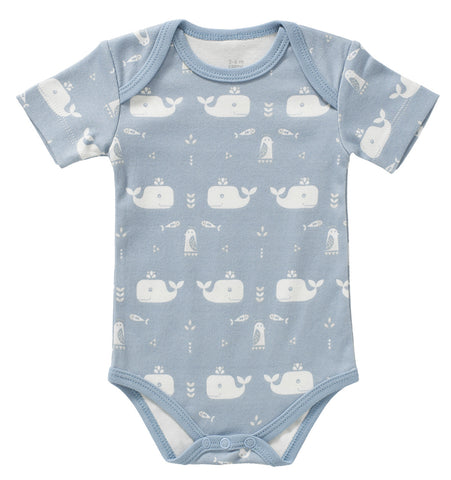 Body short sleeve Whale blue