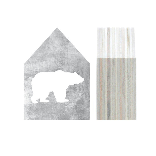 House Bear grey