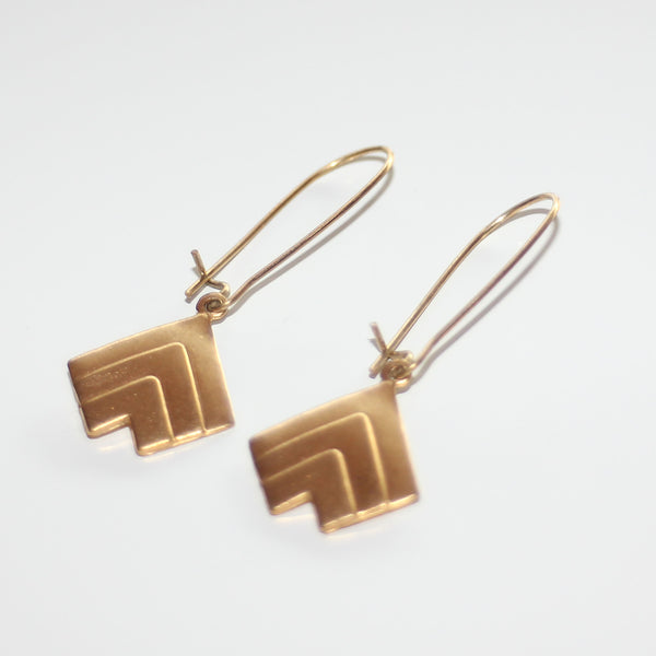 Earrings Triangle Fantasie