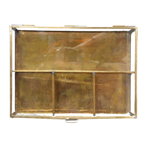 Jewellery box brass