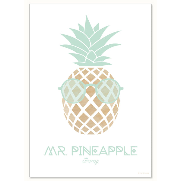 MR. PINEAPPLE – Jimmy, A4 print