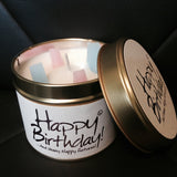 Lily-Flame Happy Birthday Scented Candle