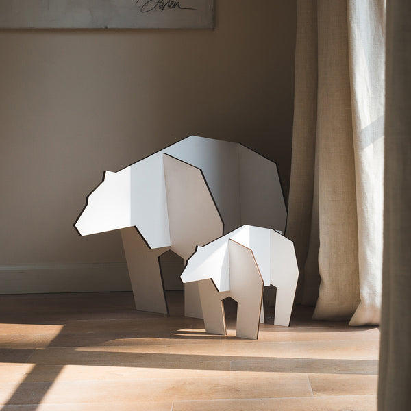 NoRdic puzzle ice bear white L