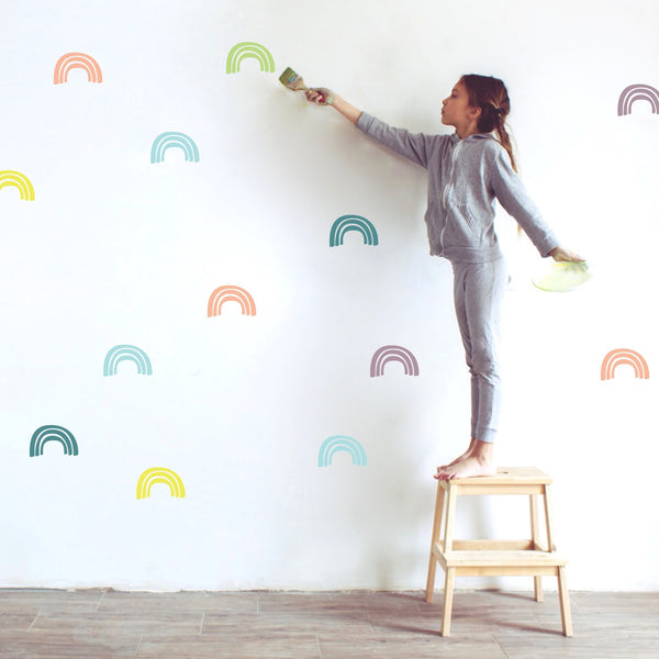 Rainbow Wall Stickers Color