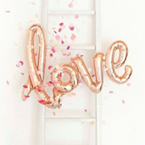 Northstar Balloons Rose Gold Love