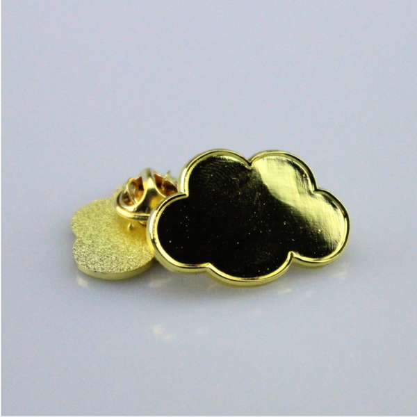 Cloud Pin Gold