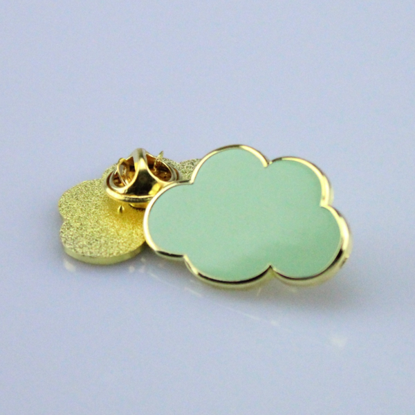 Cloud Pin Mint Green