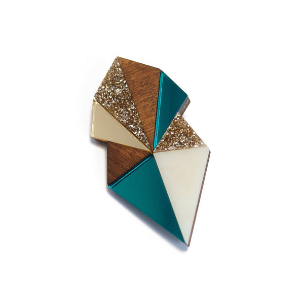 Deco Brooch