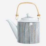 Tea pot pen stripe