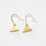 Earrings Triangle Small