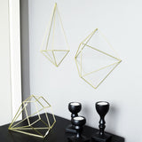 Prisma Wall Decor Brass