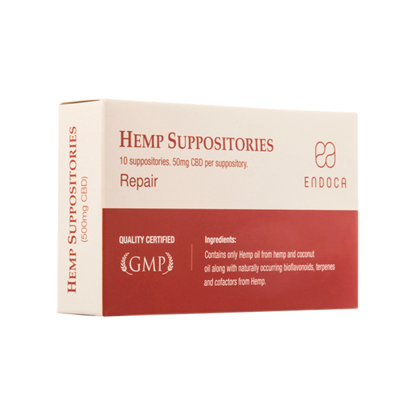 HEMP Suppositories (repair)