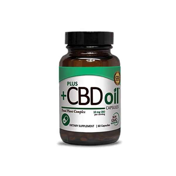 +CBDoil Capsules - Regular Strength