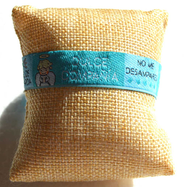 Caricature Angel de mi Guarda Prayer Bracelet