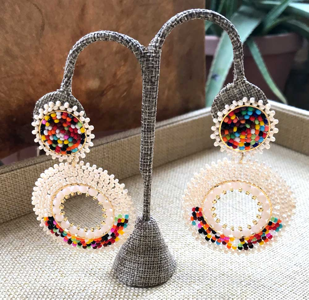 Light Chandelier Colors Earrings
