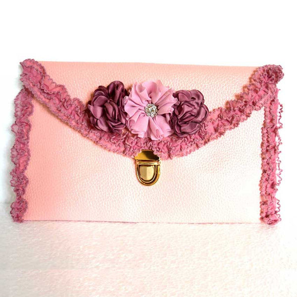 Decenarios Cool : Romantic Boho Clutch Flower Bag