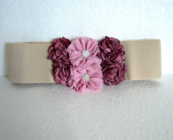Decenarios Cool : Rose Tone Flower Belt