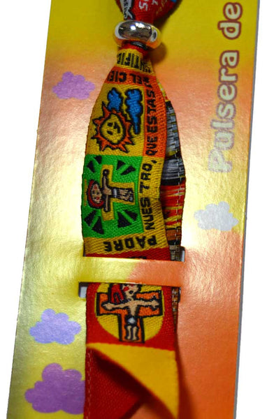 Caricature Padre Nuestro (Our Father) Prayer Bracelet