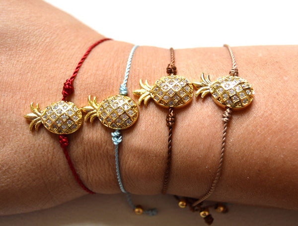 Decenarios Cool : String Pineapple Bracelet