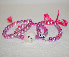 Load image into Gallery viewer, Personalized Unicorn Bracelets Set for Girls