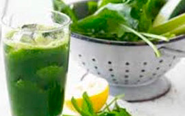 Morning Mint Green Smoothie