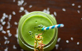 The Simple Green Fruit Smoothie