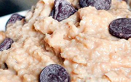 WOWMOMS Healthy cookie dough dip