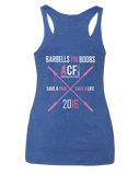 ACF 2016 Barbell for Boobs Racerback (Limited Edition)