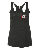 ACF 2016 Fall Invitational Racerback (Dropping Bombs) (Vintage Black)