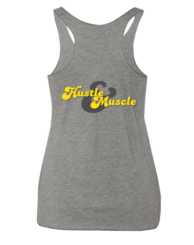 ACF 2016 Fall Invitational Racerback (Hustle & Muscle) (Heather Grey)