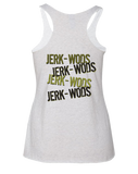 ACF 2016 Fall Invitational Racerback (Jerk Wods) (Heather White)