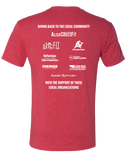 ACF 2016 Hike For Hunger Tee (Vintage Red)