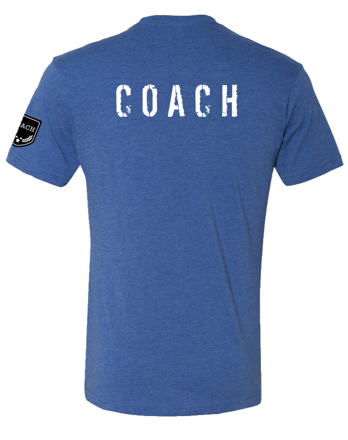ACF Coach Classic Tee (Vintage Royal)