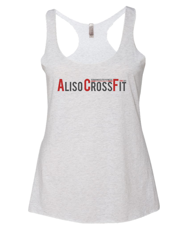 ACF Classic Racerback (Heather White)