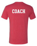 ACF Coach Mens Tri-Blend Crew (VintageRed)