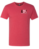 ACF California Bear Mens Tee (Vintage Red)