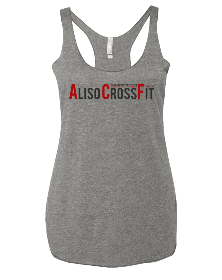 ACF Classic Ladies Racerback Tank (Premium Heather)